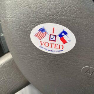 Got my early primary vote in! Voted for Elizabeth Warren @ewarren for prez!